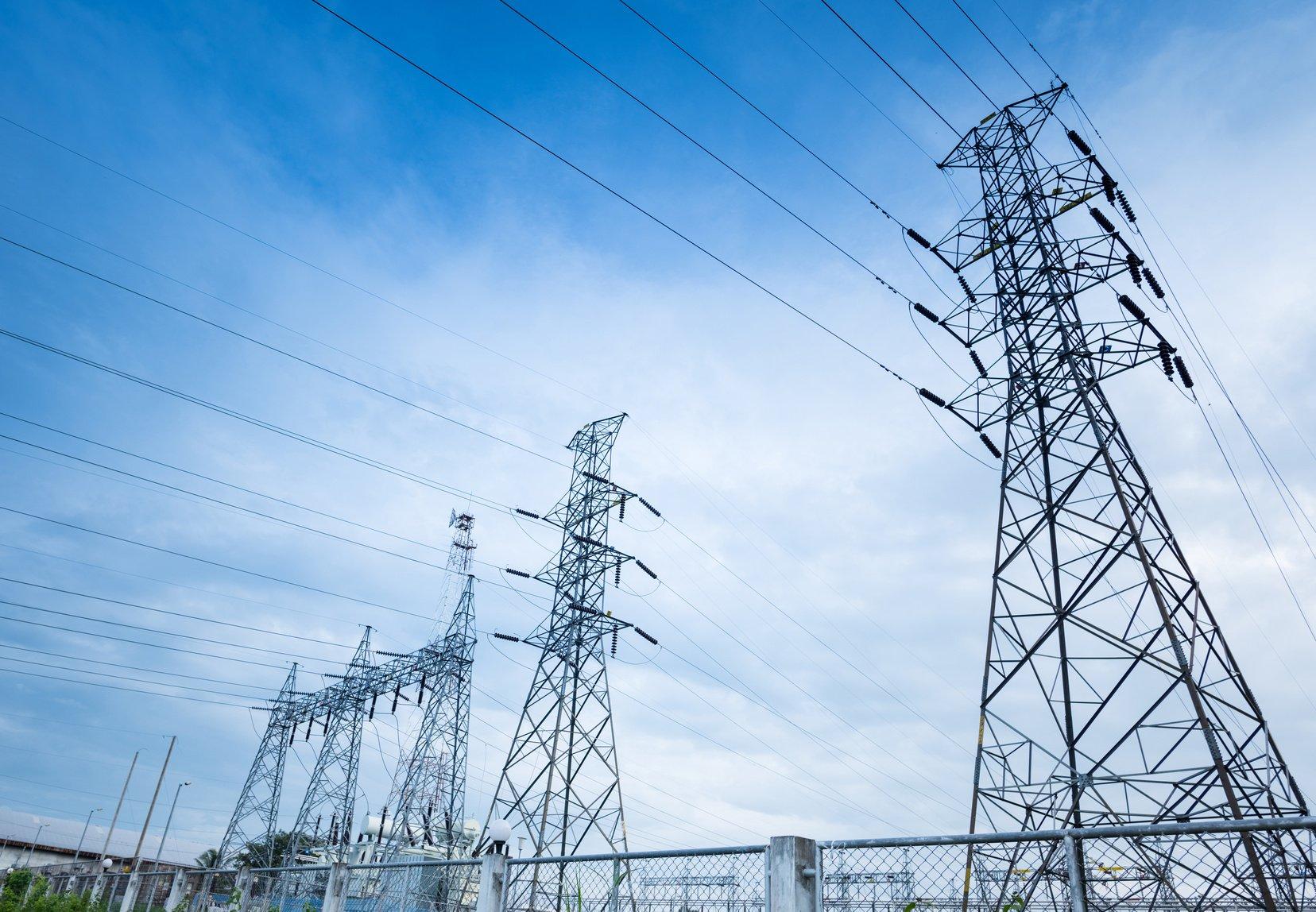 Freileitungsmast oder auch Strommast